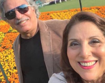 عالمی شہرت یافتہ فنکار و ہدایتکار ثمینہ پیرزادہ اور عثمان پیزادہ کا سیف سٹی اتھارٹی کا دورہ