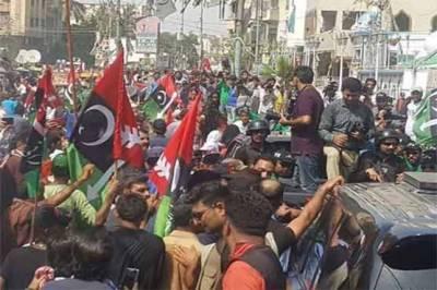 سابق صدر آصف زرداری کی گرفتاری کیخلاف مختلف شہروں میں احتجاج، توڑ پھوڑ