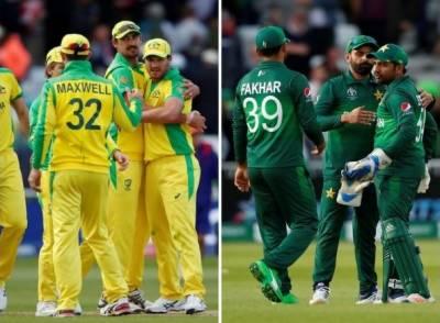 پاکستان کا ٹاس جیت کر آسٹریلیا کیخلاف فیلڈنگ کا فیصلہ
