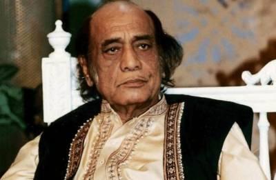 شہنشاہ غزل مہدی حسن خان کی آج ساتویں برسی منائی جارہی ہے