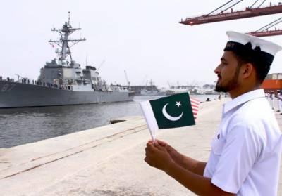 امریکی بحری جہاز کا پاکستان کا دورہ