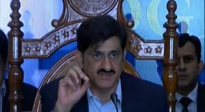 اپنا این آر او اپنے پاس رکھو اور مجھے صوبے کا حق دو:وزیراعلیٰ سندھ