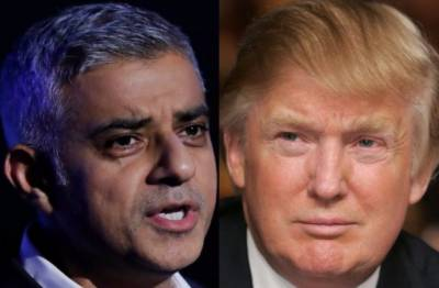 ٹرمپ نے لندن کے مسلمان میئر صادق خان کو ہٹانے کا مطالبہ کر دیا