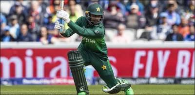 پاک بھارت ٹاکرا: فخر کی نصف سنچری، پاکستان کے 8 2 اوورز میں 5 وکٹوں پر132 رنز