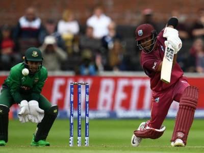 ورلڈکپ 2019: ویسٹ انڈیز کا بنگلا دیش کو جیت کیلئے 322 رنز کا ہدف