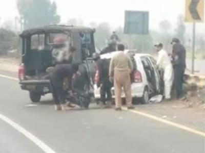 سانحہ ساہیوال کا ٹرائل لاہور منتقل کرنے کا حکم