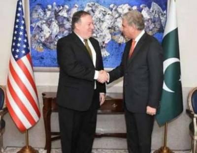 وزیر خارجہ شاہ محمود قریشی کا لندن سے امریکی ہم منصب مائیک پومپیو سے ٹیلی فونک رابطہ، خطے میں امن و امان کی صورتحال سمیت باہمی دلچسپی کے امور پر تبادلہ خیال