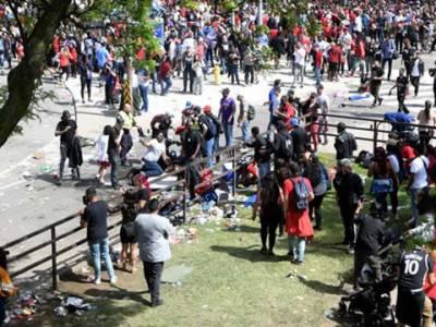 کینیڈا میں جشن فتح پر فائرنگ، وزیراعظم جسٹن ٹروڈو بال بال بچ گئے، 4افراد زخمی