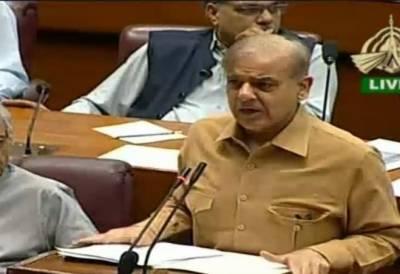 پاکستان کابجٹ آئی ایم ایف نےبنایاہے,ہمارے دورمیں بجٹ اجلاسوں کے دوران طوفان بدتمیزی برپا کیا گیا:شہباز شریف