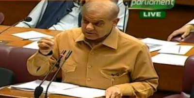 شہباز شریف کی بجٹ پر تقریر کےدوران وزیر اعظم عمران خان پر کڑی تنقید,عمران نیازی کہہ کر مخاطب کرتے رہے