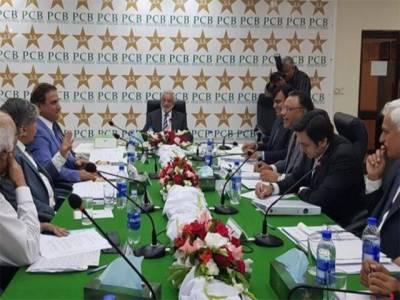 پی سی بی گورننگ بورڈ نے ٹیم، مینجمنٹ اورسلیکشن کمیٹی کی کارکردگی کےحتساب کی منظوری دیدی