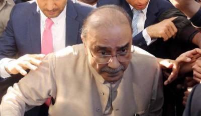 میگا منی لانڈرنگ کیس:آصف علی زرداری کے جسمانی ریمانڈ میں 11 دن کی توسیع
