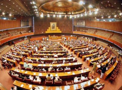 قومی اسمبلی کی آئندہ مالی سال کیلئےمختلف وزارتوں،ڈویژنوں اورمحکموں کیلئے66مطالبات زرکی منظوری