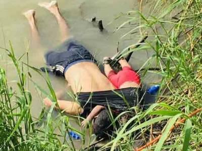 باپ اور بیٹی کے موت کی آخری تصاویر نے دنیا کو جھنجوڑ دیا