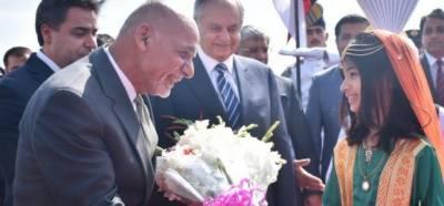 افغان صدراشرف غنی دو روزہ دورےپرپاکستان پہنچ گئے
