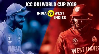ورلڈ کپ2019:آج بھارت کامقابلہ ویسٹ انڈیز سے ہوگا