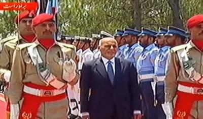 افغان صدر اشرف غنی 2 روزہ دورے پر پاکستان پہنچ گئے،پرتپاک استقبال,گارڈ آف آنر بھی پیش کیا گیا