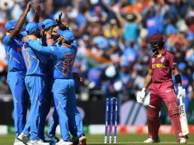 مانچسٹر:بھارت نے ویسٹ انڈیز کو 125 رنز سے ہرا دیا