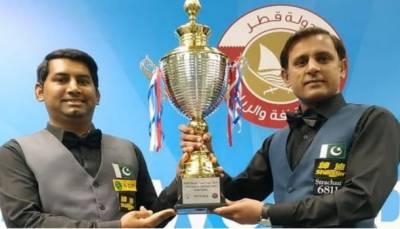 پاکستان نے بھارت کو شکست دیکر عالمی ٹیم کپ اسنوکر چیمپیئن شپ جیت لی