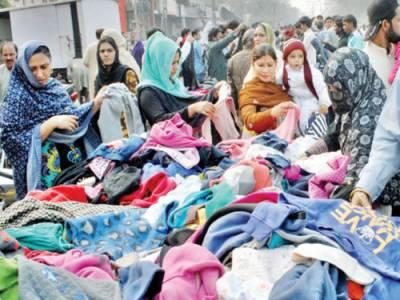 لنڈے کے کپڑوں پر بھی 10 فیصد ٹیکس عائد