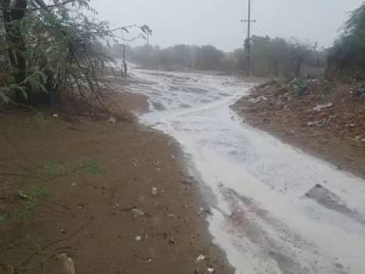 تھرپارکر میں تیز بارش، آسمانی بجلی گرنے سے 12 سالہ لڑکی جاں بحق