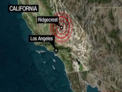 अमरीकी रियासत कैलीफोर्निया में दूसरे रोज़ भी7.1शिद्दत का ज़लज़ला