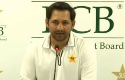 سرفراز احمد نے ورلڈ کپ میں ٹیم کی کارکردگی بہتر قرار دے دی,کپتانی نہ چھوڑنے کا اعلان