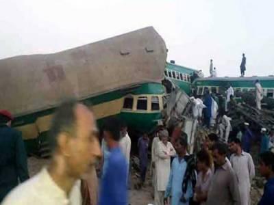 ڈاکٹرعارف علوی،عمران خان اور شہباز شریف کا رحیم یار خان ٹرین حادثے پر اظہار افسوس