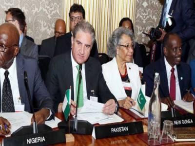 वज़ीर-ए-ख़ारजा का दौलत मुशतर्का के वज़न पर अमल पैरा होने के लिए पाकिस्तान के अज़म काइआदा