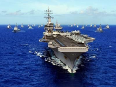 امریکا اور اتحادی خلیج میں جہاز رانی کے تحفظ کے لئے کام کر رہے ہیں،امریکا بحریہ