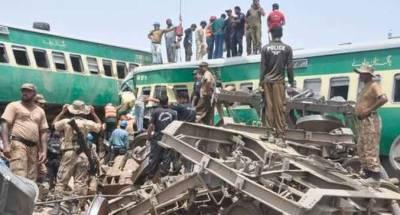 ٹرین حادثہ تیزرفتاری اور غیرذمہ داری کی وجہ سے ہوا : جوائنٹ انویسٹی گیشن رپورٹ