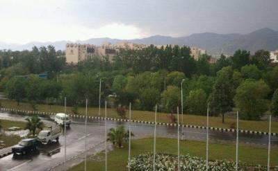 ملک کے بیشتر حصوں میں شدید بارش متوقع ہے:محکمہ موسمیات