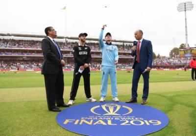 ورلڈکپ 2019: نیوزی لینڈ کا انگلینڈ کیخلاف ٹاس جیت کر بیٹنگ کا فیصلہ