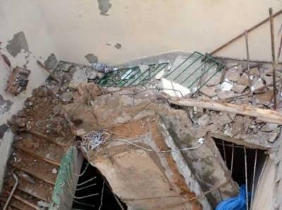 لاہورمیں مکان کی چھت گرنے سے ایک شخص جاں بحق، 3 زخمی