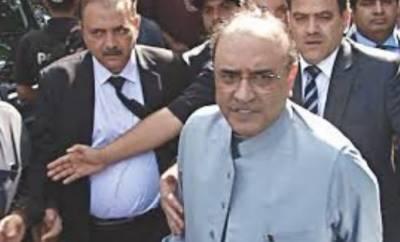 جعلی اکاﺅنٹس کیس : سابق صدر آصف علی زرداری کا 14 روزہ جسمانی ریمانڈ منظور