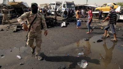 عراق:دوخودکش حملوں میں 5پانچ افرادہلاک