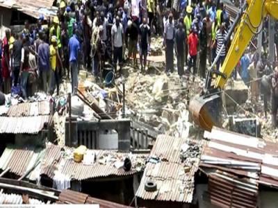بھارت میں عمارت منہدم ہونے سے 10 افرادہلاک