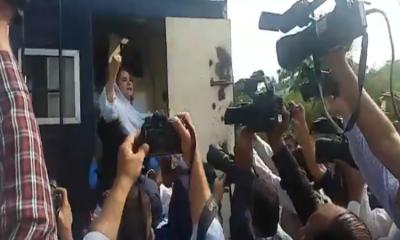 مریم نواز کی احتساب عدالت میں پیشی، 12 لیگی کارکن گرفتار