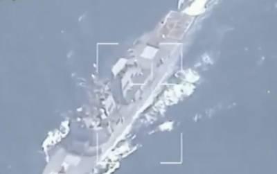 ایران نے امریکی بحری بیٹرے کی ویڈیو جاری کردی