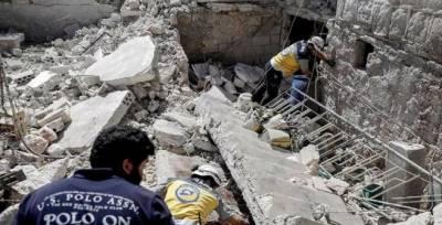 شام: فضائی حملوں میں7 بچوں سمیت 18افراد ہلاک
