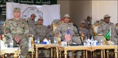 سعودی اور امریکی بری افواج کی مشترکہ مشقیں جاری