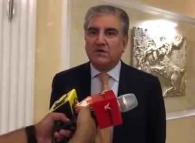 امریکی صدر نے پاکستان کو عظیم ملک اور وہاں کے لوگوں کو عظیم قرار دیا:شاہ محمود قریشی