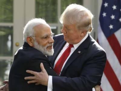 نریندر مودی نے کبھی امریکی صدر کو مسئلہ کشمیر پر ثالث بننے کی درخواست نہیں کی: بھارت