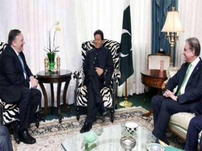 وزیر اعظم سے امریکی وزیر خارجہ مائیک پومپیو کی ملاقات