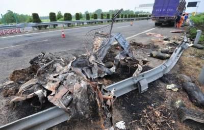 چین:ٹریفک حادثے میں8 افراد ہلاک
