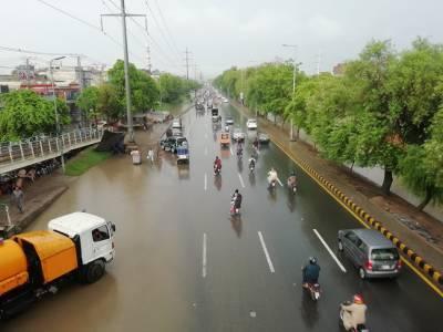 لاہور، کراچی اور اسلام آباد سمیت مختلف شہروں میں بارش، موسم خوشگوار