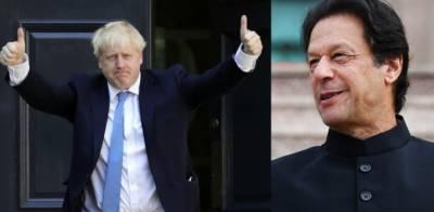 وزیراعظم کی بورس جانسن کو برطانیہ کے وزیراعظم کا عہدہ سنبھالنے پر مبارکباد