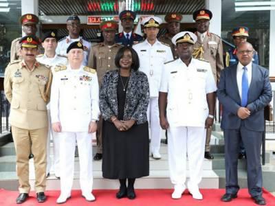 پاک بحریہ کے سر براہ کی کینیا کے ڈیفنس کیبنٹ سیکرٹری اورچیف آف ڈیفنس فورسزسے ملاقاتیں
