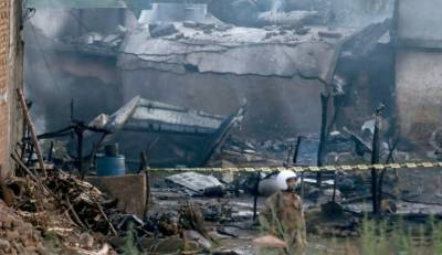 راولپنڈی:پاکستان آرمی ایوی ایشن کاچھوٹاطیارہ گرکرتباہ،18 افرادشہید