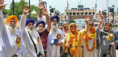 بابا گورونانک کا 550 ویں جنم دن، 500بھارتی سکھ یاتریوں کا دورہ پاکستان